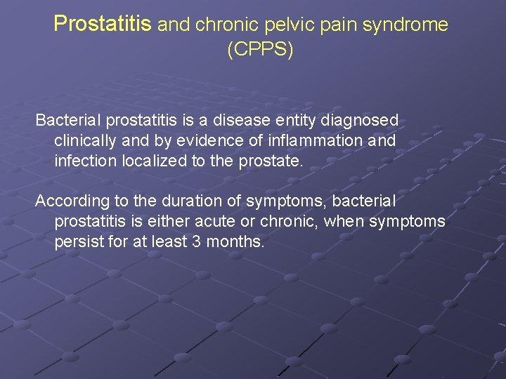 Prostatitis bilirubin)