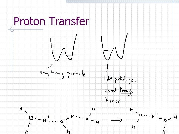 Proton Transfer