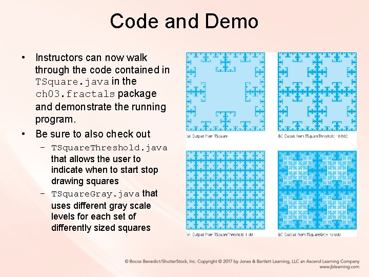 Code and Demo • Instructors can now walk through the code contained in TSquare.