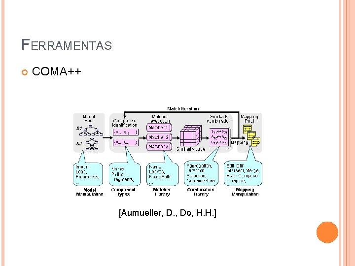 FERRAMENTAS COMA++ [Aumueller, D. , Do, H. H. ]