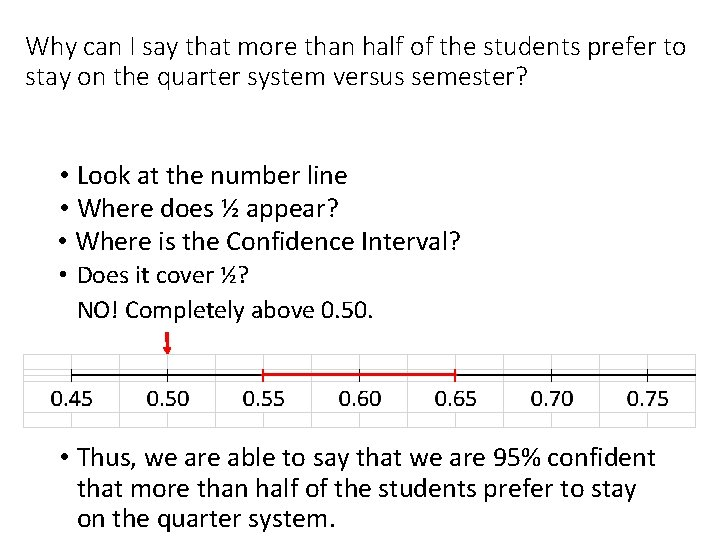 Why can I say that more than half of the students prefer to stay