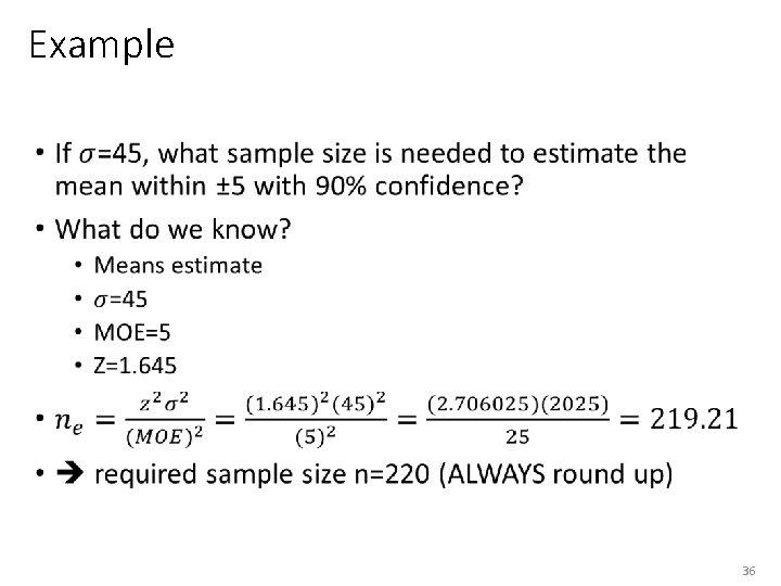 Example • 36