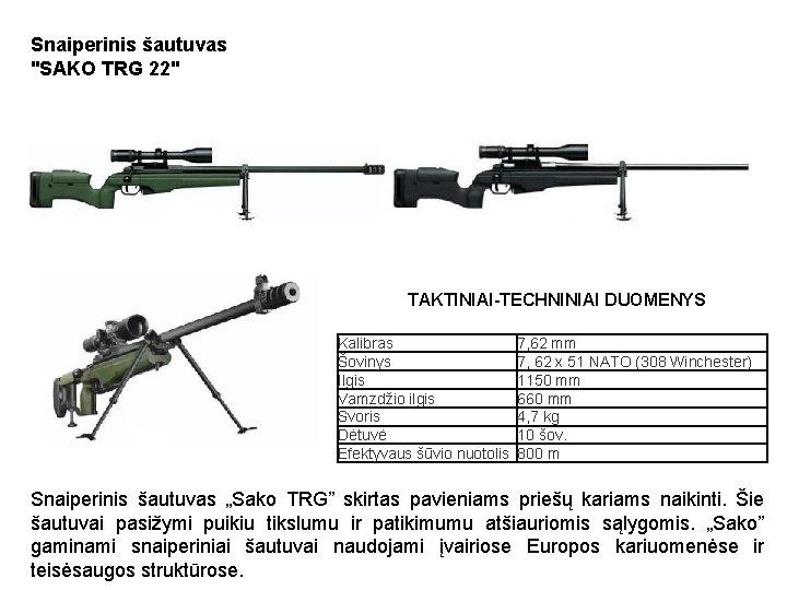 Snaiperinis šautuvas