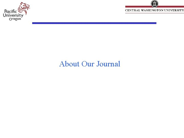 About Our Journal