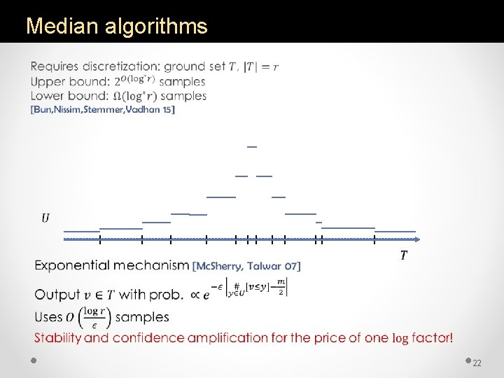 Median algorithms • 22