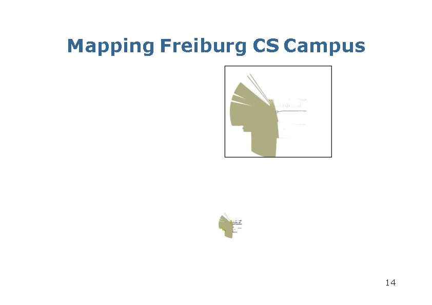 Mapping Freiburg CS Campus 14