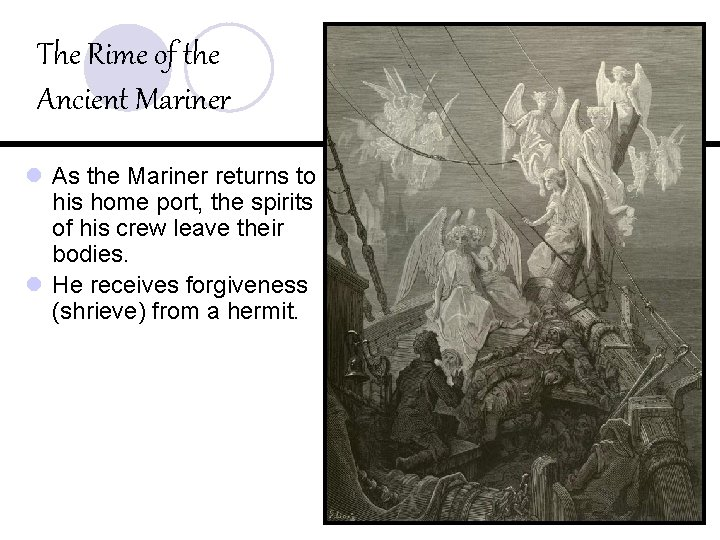The Rime of the Ancient Mariner l As the Mariner returns to his home