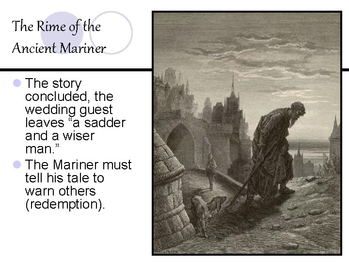 The Rime of the Ancient Mariner l The story concluded, the wedding guest leaves