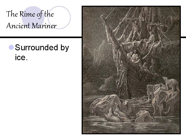 The Rime of the Ancient Mariner l Surrounded by ice.