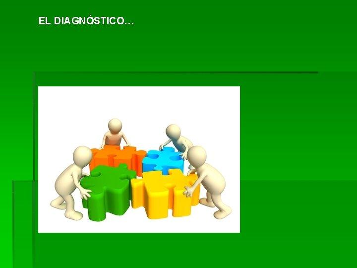 EL DIAGNÓSTICO…