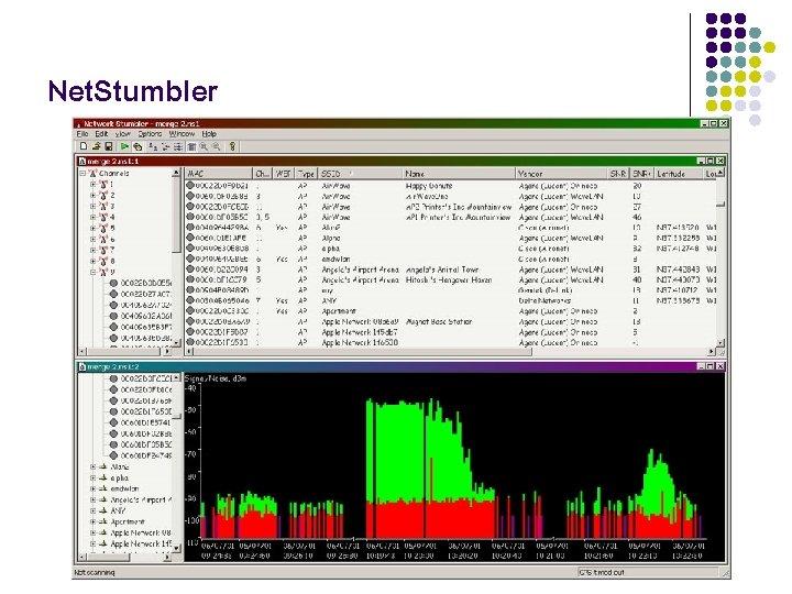 Net. Stumbler