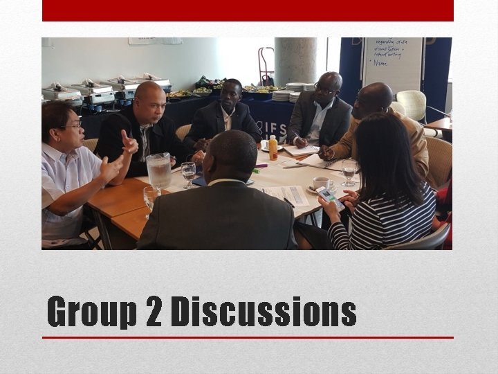 Group 2 Discussions