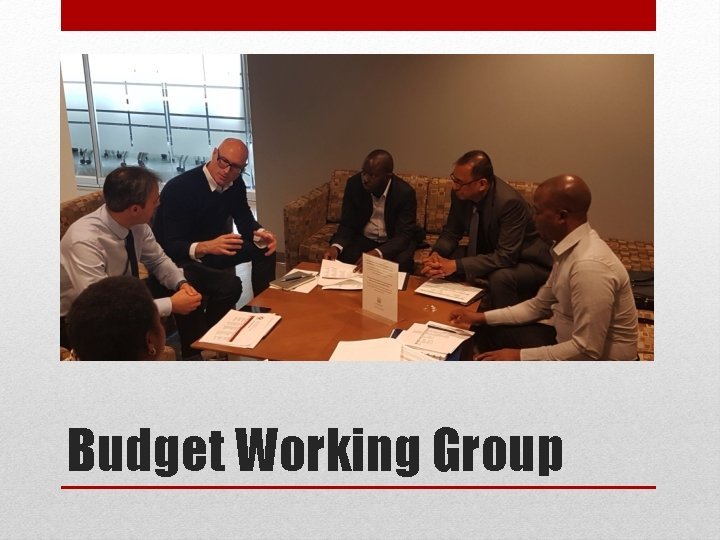 Budget Working Group