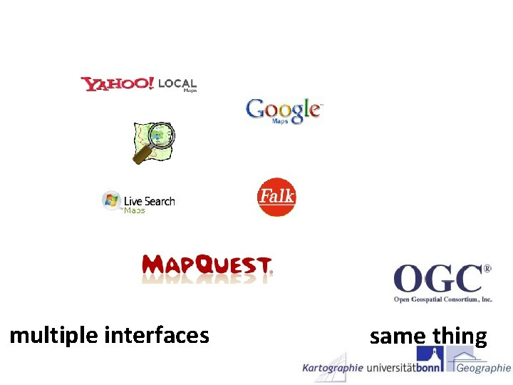 multiple interfaces same thing