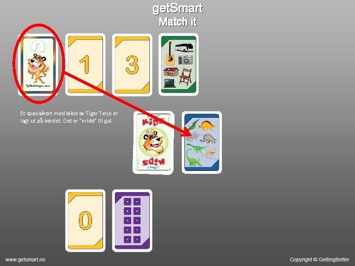 get. Smart Match it Et spesialkort med bilde av Tiger Terje er lagt ut