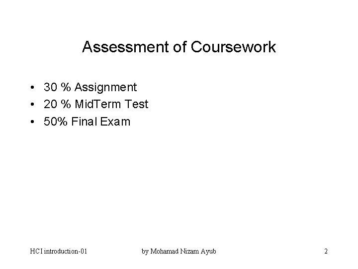 Hci coursework please revise my essay