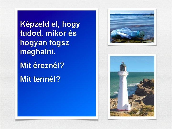 mit megismerni)