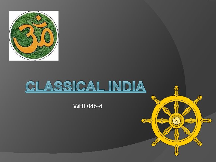 CLASSICAL INDIA WHI. 04 b-d