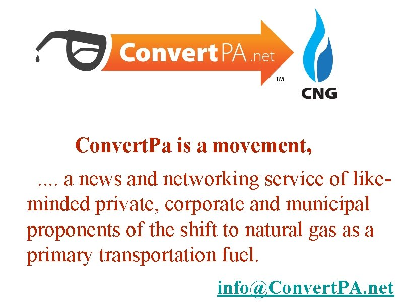 Convert. Pa is a movement, . . a news and networking service of likeminded