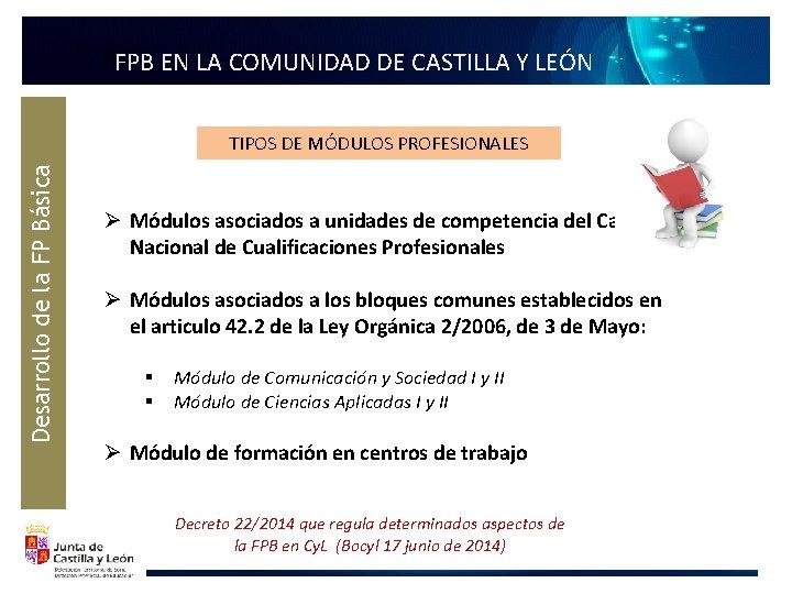 FFPB EN LA COMUNIDAD DE CASTILLA Y LEÓN Desarrollo de la FP Básica TIPOS