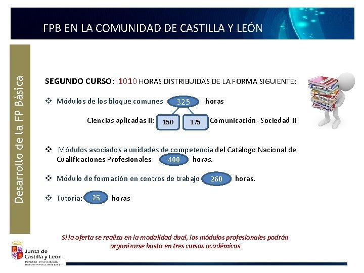 Desarrollo de la FP Básica FPB EN LA COMUNIDAD DE CASTILLA Y LEÓN SEGUNDO