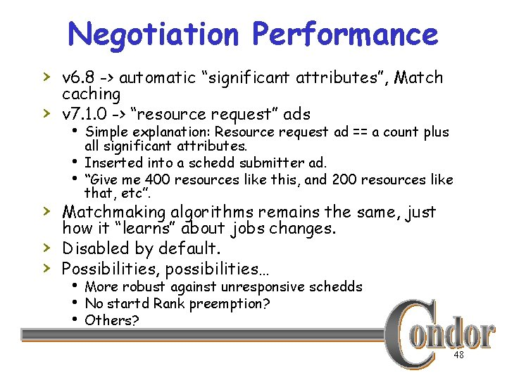 """Negotiation Performance › v 6. 8 -> automatic """"significant attributes"""", Match › caching v"""