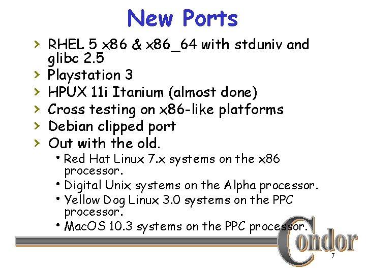 New Ports › RHEL 5 x 86 & x 86_64 with stduniv and ›
