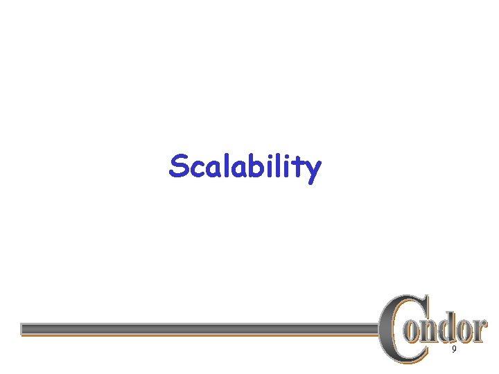 Scalability 9