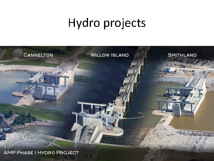 Hydro projects