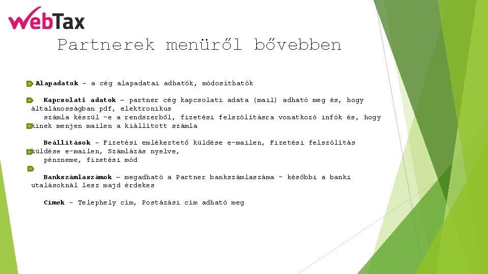e- mail cím: partnerség)