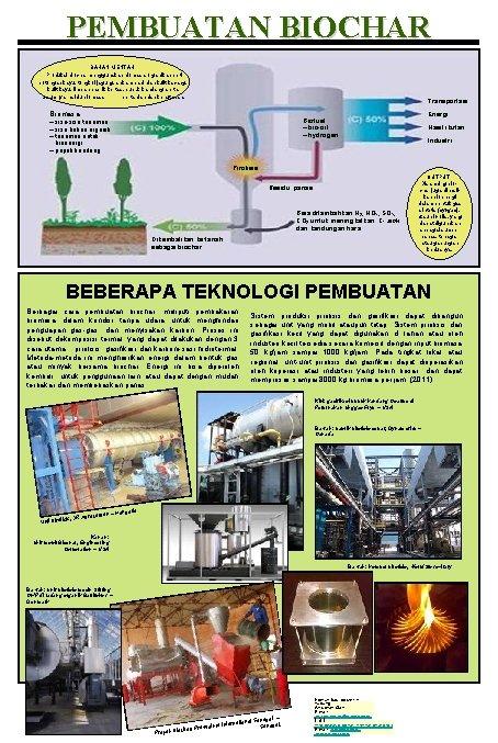 PEMBUATAN BIOCHAR BAHAN MENTAH Produksi biochar menggunakan biomasa organik seperti potongan kayu, tongkol jagung,