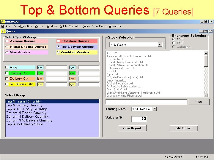 Top & Bottom Queries [7 Queries]