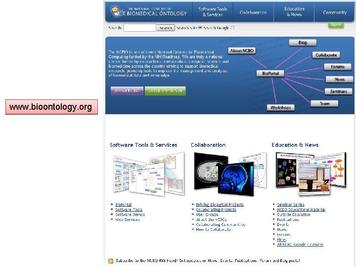 www. bioontology. org