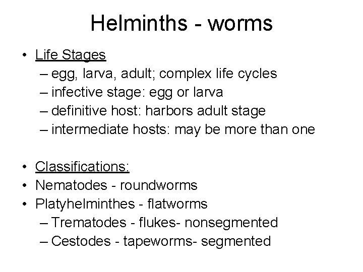 helminthic definition