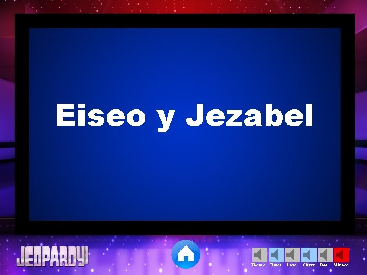 Eiseo y Jezabel Theme Timer Lose Cheer Boo Silence