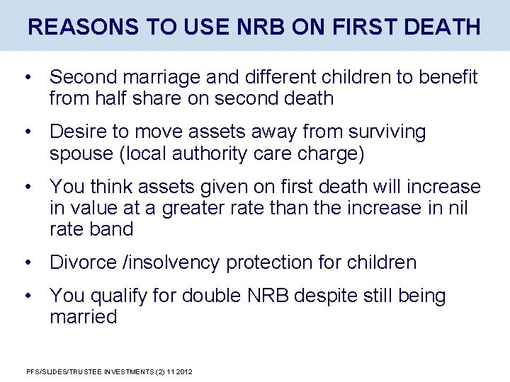 After spouse of marriage death second 11 Signs