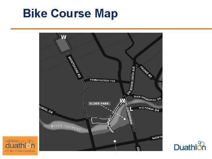 Bike Course Map W W L