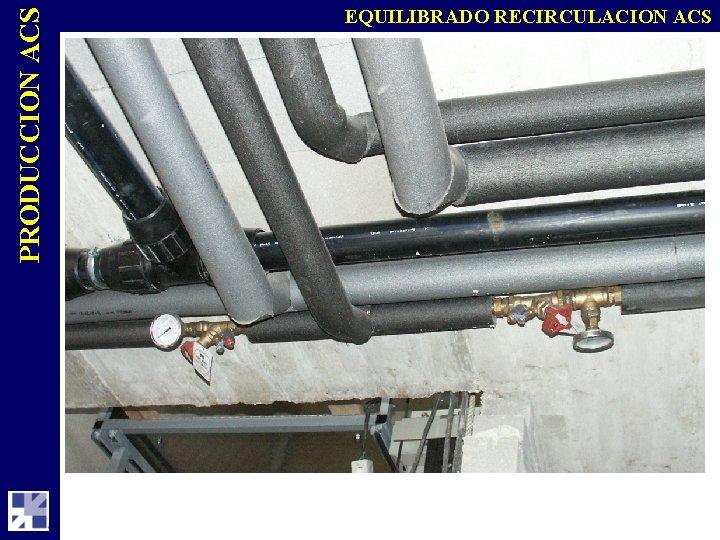 PRODUCCION ACS EQUILIBRADO RECIRCULACION ACS