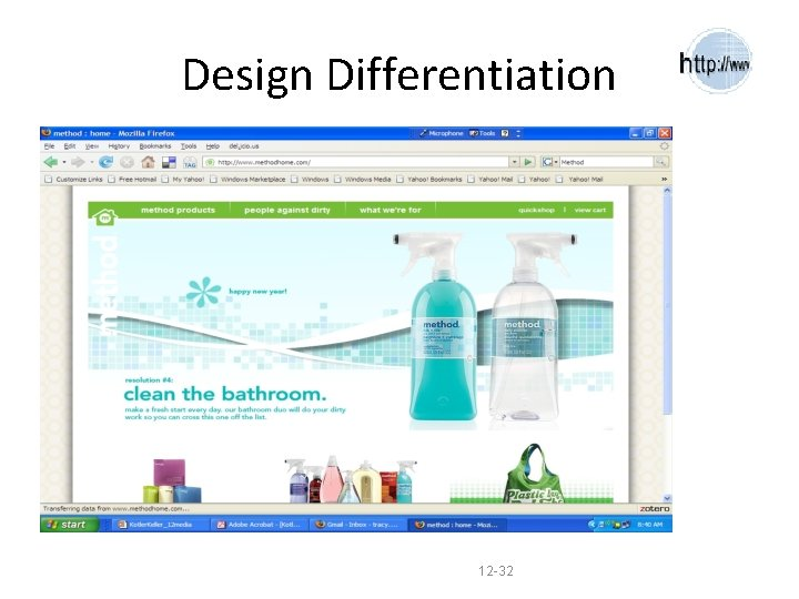 Design Differentiation 12 -32