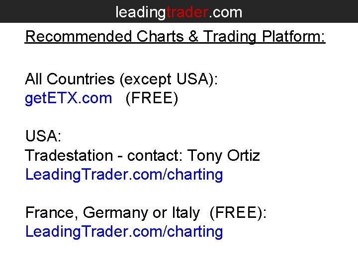 tradestation costi in diretta streaming bitcoin di trading
