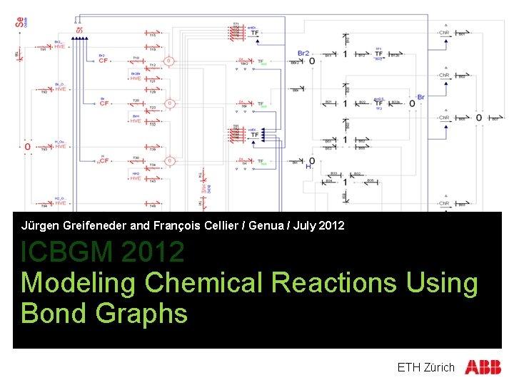 Jürgen Greifeneder and François Cellier / Genua / July 2012 ICBGM 2012 Modeling Chemical