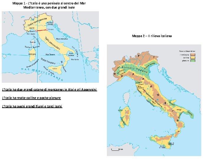 Cartina Italia Pianure.Italia Source Questions Internationales Litalie Un Destin Europen