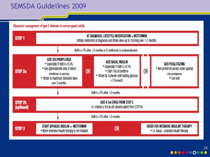 SEMSDA Guidelines 2009 20
