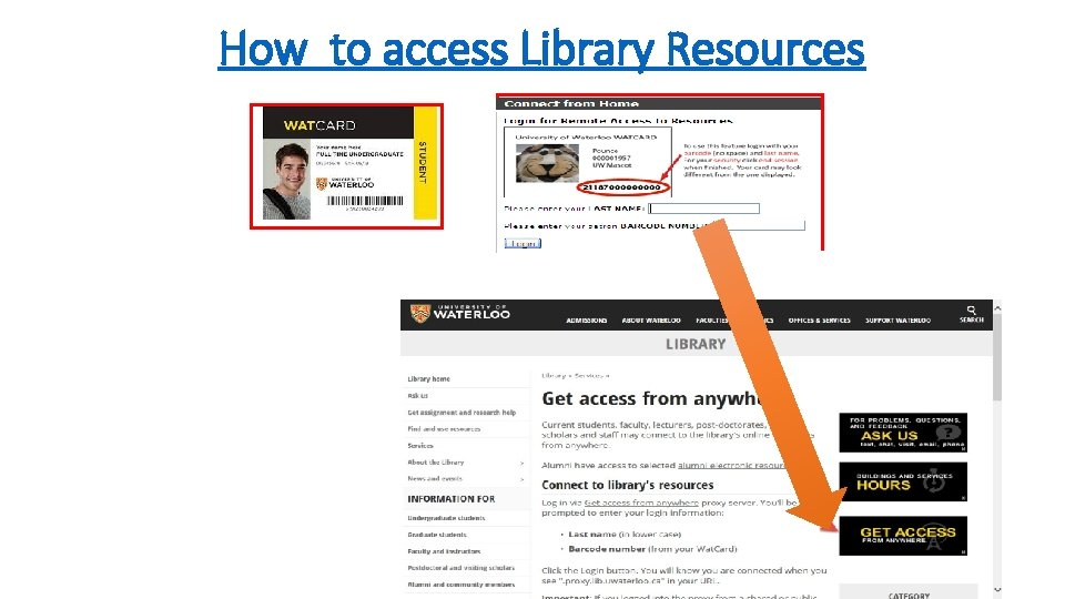 How to access Library Resources
