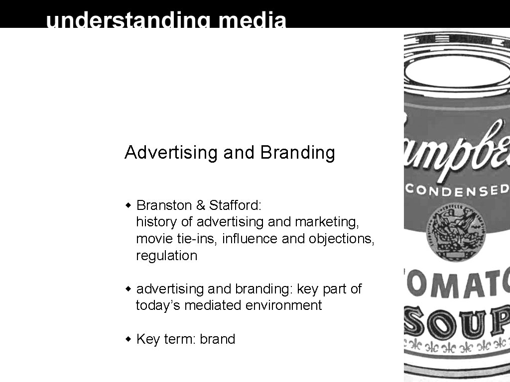 Advertising and Branding Branston & Stafford: history of advertising and marketing, movie tie-ins, influence