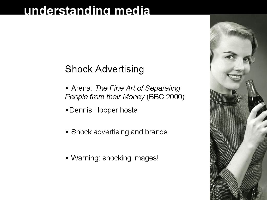 Shock Advertising Arena: The Fine Art of Separating People from their Money (BBC 2000)