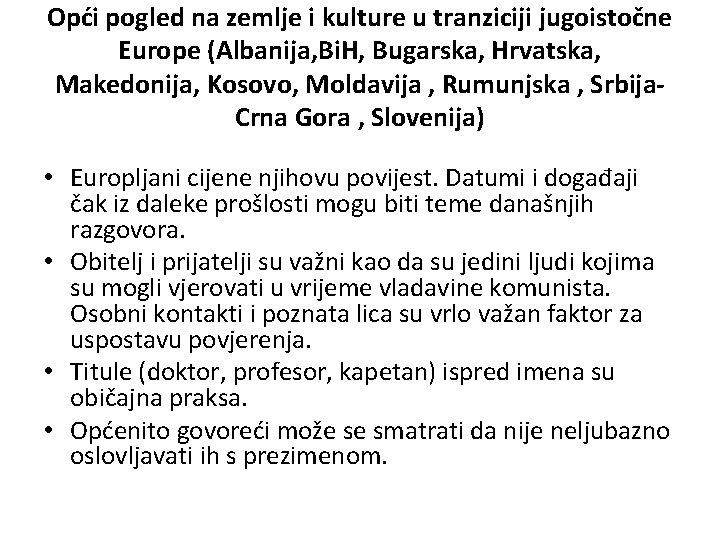 Slovenija osobni kontakti