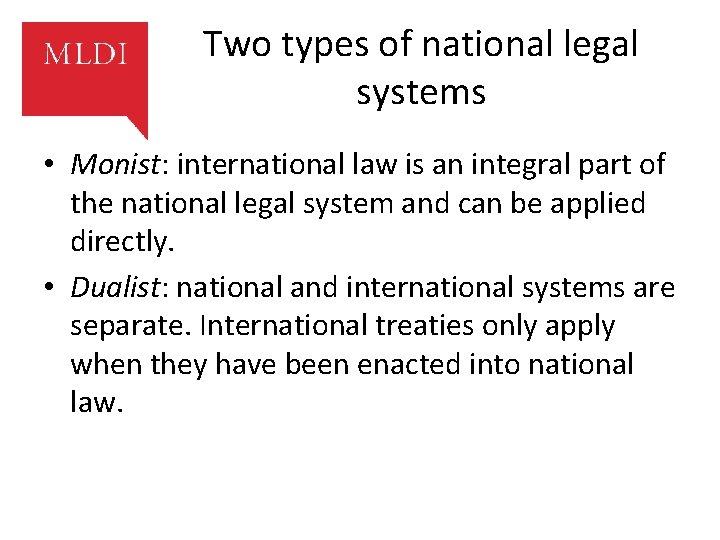 Dualist System