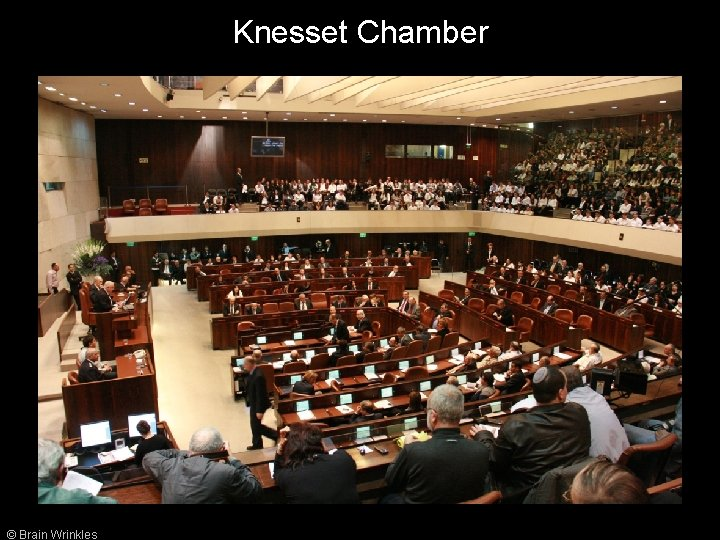 Knesset Chamber © Brain Wrinkles