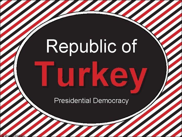 Republic of Turkey Presidential Democracy © Brain Wrinkles